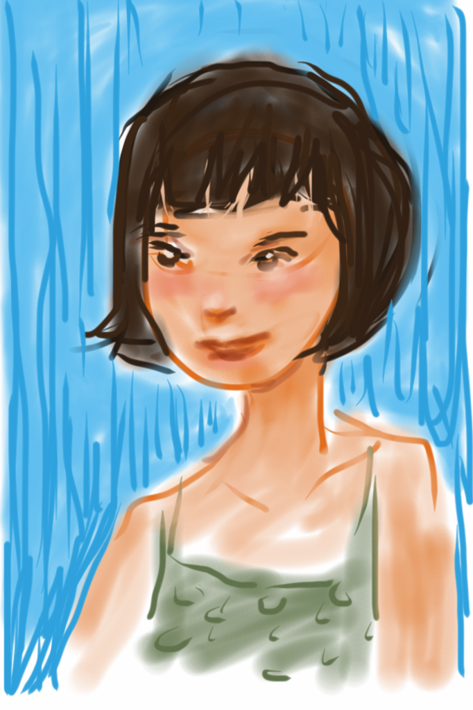 iPod touch doodle