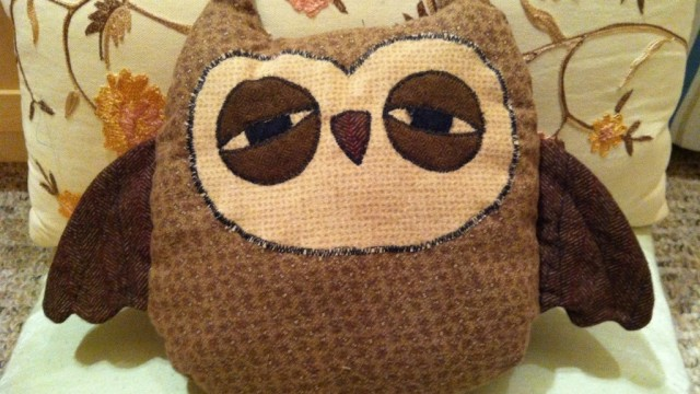 Sleepy Owls. Hoot!