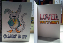 Baby card done differently