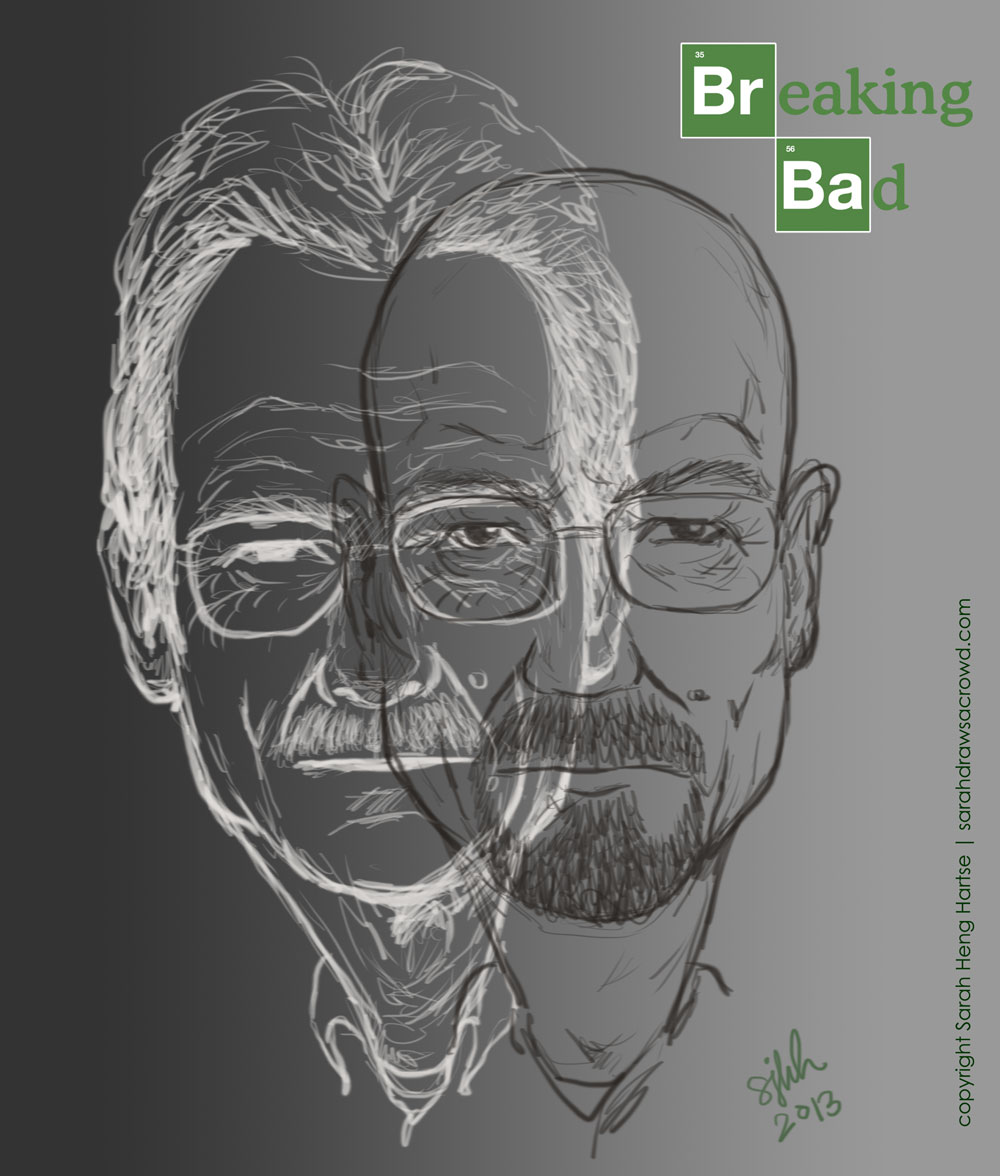 Breaking Bad's Walter White played by actor Bryan Cranston