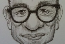 Fred Armisen caricature