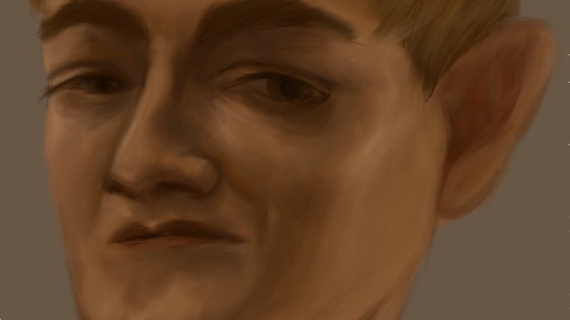 Game of Thrones Celebrity Caricature - King Joffrey