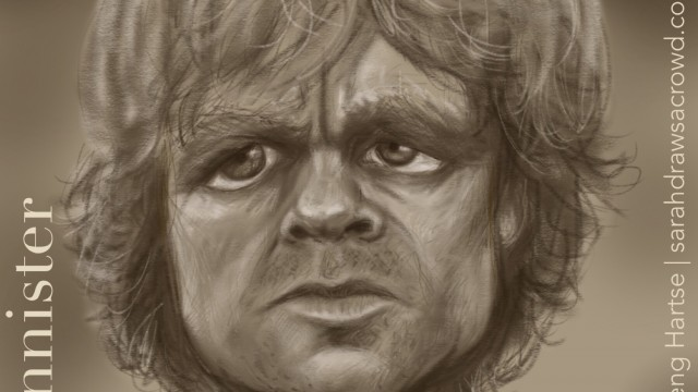 Celebrity Caricature - Game of Thrones Tyrion Lannister
