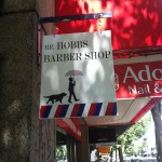 Mr. Hobbs sign outside